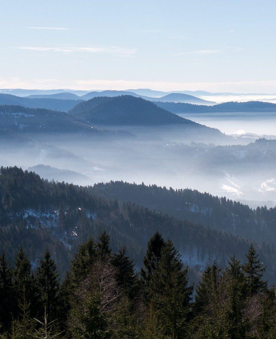 Les montagnes vosgiennes
